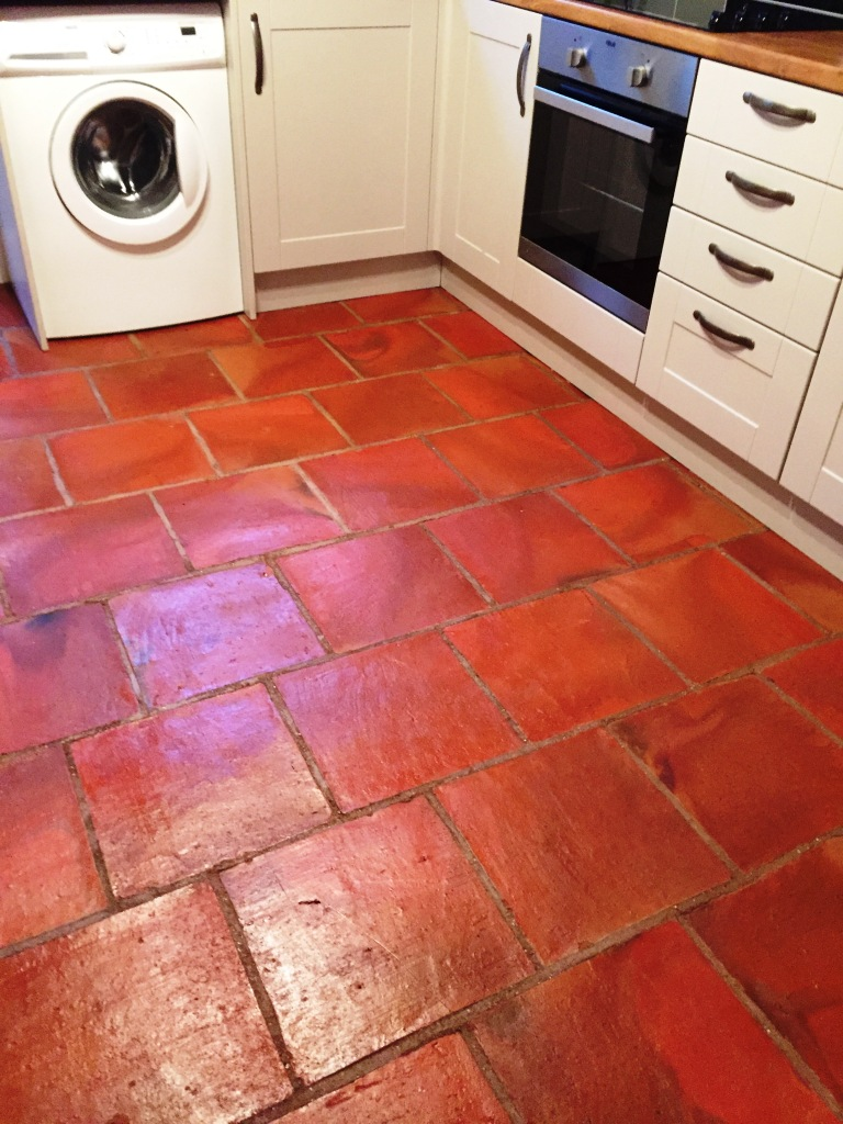 Kitchen stone cleaning and polishing tips for terracotta floors terracotta floor after cleaning minehead somerset dailygadgetfo Choice Image